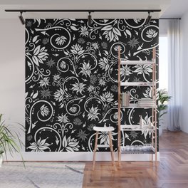 Floral background Wall Mural