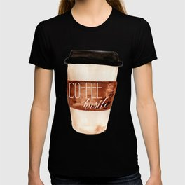 Coffee and Hustle on the Go T-shirt