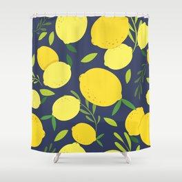Freshly Picked Lemon Shower Curtain