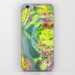 Rainbow Bubbles iPhone Skin
