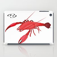 cancer iPad Cases featuring Cancer by Rejdzy