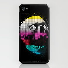 PIXEL SKULLY iPhone (4, 4s) Slim Case