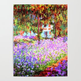 Monets Garden in Giverny Poster