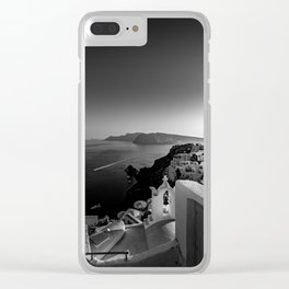 Oia - Santorini Clear iPhone Case
