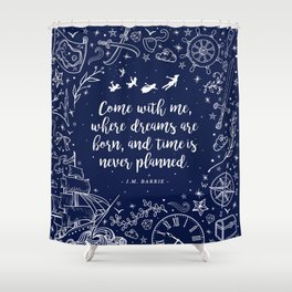 Where Dreams Are Born Shower Curtain