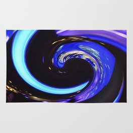 Swirling colors 01 Rug