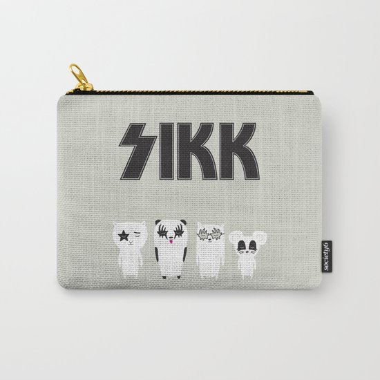 SIKK - ANALOG zine Carry-All Pouch