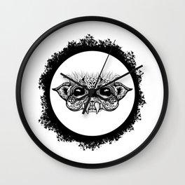 Half Creature Wall Clock