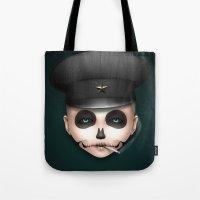 misfits Tote Bags featuring Misfits - Svetlana by Raymond Sepulveda