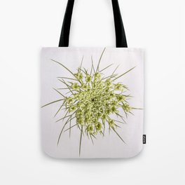 Queen Ann's Lace Flower Tote Bag