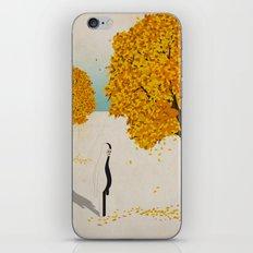 u n  a u t u n n o p e r p l e s s o iPhone & iPod Skin