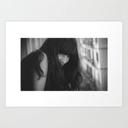 Love from Paris b/n Art Print