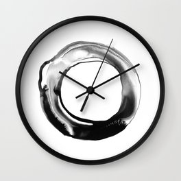 breathing in love Wall Clock