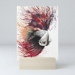 Heart of Flames Mini Art Print