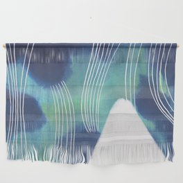 Mountain Aurora Wall Hanging