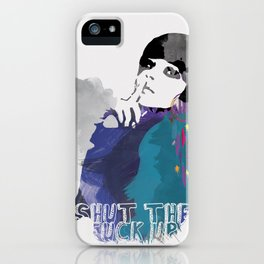 Would You Please iPhone Case