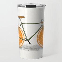 Zest (Orange Wheels) Travel Mug