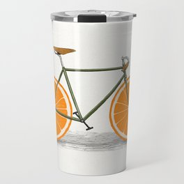 Zest (Orange Wheels) Travel Mug