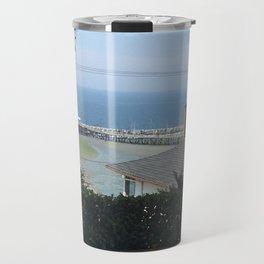 View Of White Rock Beach Travel Mug