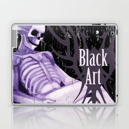 Black Art Laptop & iPad Skin