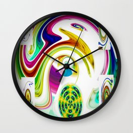 Abstract Perfection 25 Wall Clock