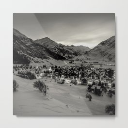 Back when the world was full of wonder - VII.- Metal Print