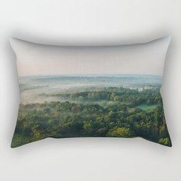 Kentucky from the Air Rectangular Pillow