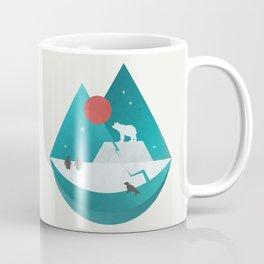 Arctic Antarctica Coffee Mug