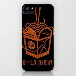 BLO MEIN iPhone Case