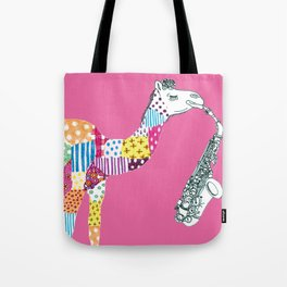 Pink-Camel Tote Bag