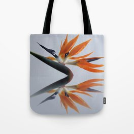 The bird of paradise flower Tote Bag