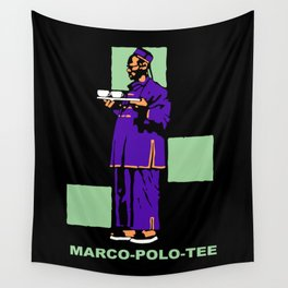 Retro style German Tea advertising Wall Tapestry