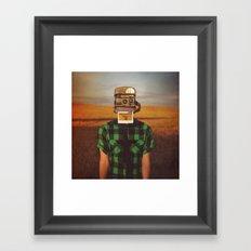 I See What You See Framed Art Print