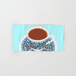 Turkish Coffee Hand & Bath Towel