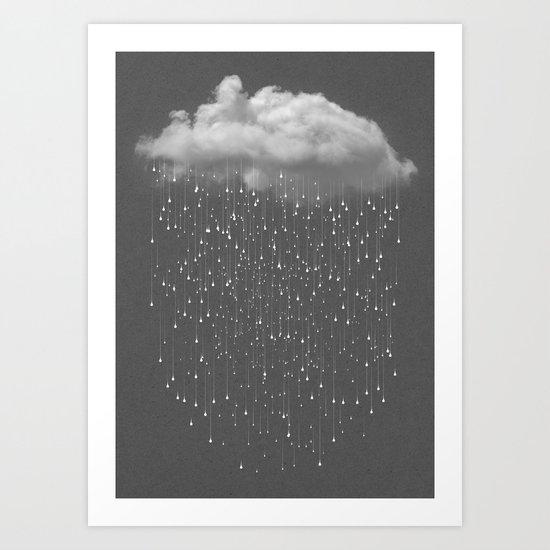 Let It Fall II Art Print