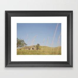 Abandoned South Dakota 7950 Framed Art Print