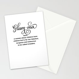 Glam-ma Stationery Cards