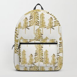 Pine Trees – Gold Palette Backpack
