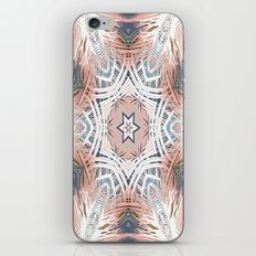 Tribe Coral and Steel iPhone & iPod Skin