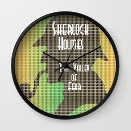 The Valley of Fear Wall Clock