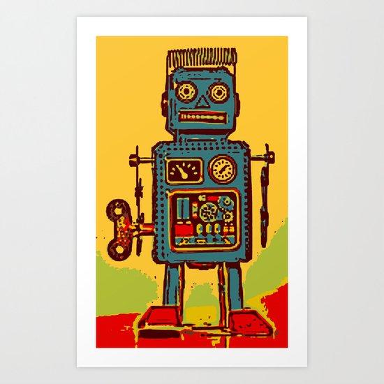Robot III Art Print