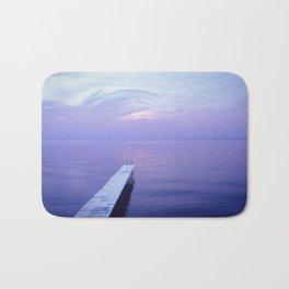 Long Dock Coastal Potography Bath Mat