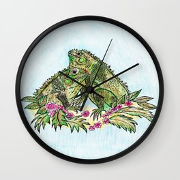 Las Iguanas Wall Clock