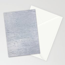 Blue-gray wood texture Stationery Cards