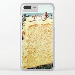 Bathing Beauty Clear iPhone Case