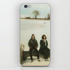 Frozen Warnings iPhone & iPod Skin