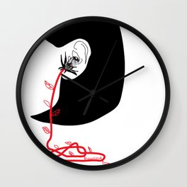 Listen to the nature Wall Clock
