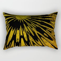 Native Tapestry in Gold Rectangular Pillow