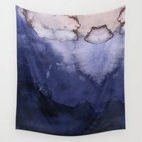 agate Wall Tapestries featuring Agate by Tooth & Nail Designs