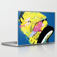 homer Laptop & iPad Skins featuring Homer 1. by Huxley Chin